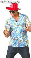 Camisa hawaiano adulto
