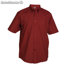 Camisa Hombre m granate workwear collection