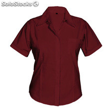 Camisa Mujer m granate workwear collection