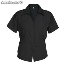 Camisa Mujer m negro workwear collection