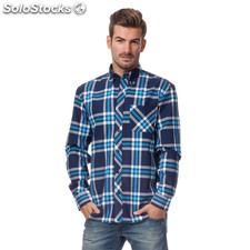 Camisa nyc cuadros - the indian face - 8433856042016 - 15-002-02-xs