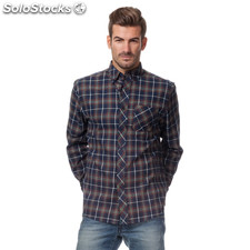 Camisa urban classics cuadros - the indian face - 8433856042436 - 15-002-09-xs