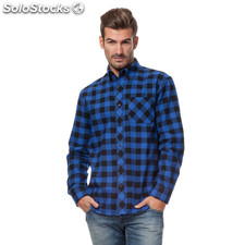 Camisa vail cuadros - the indian face - 8433856042733 - 15-002-14-xs
