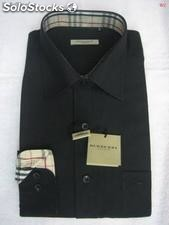 Camisas burberry manga larga, dress shirt para hombre