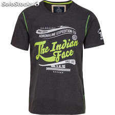 Camiseta adrenaline expedition co - dark grey - the indian face - 8433856056747