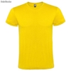 CAMISETA ADULTO ALGODON AMARILLO S REF-T-1512-S-AM