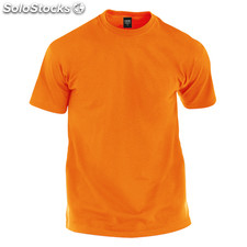Camiseta adulto color naranja premium