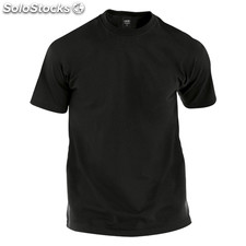 Camiseta adulto color negro premium