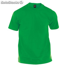 Camiseta adulto color verde premium