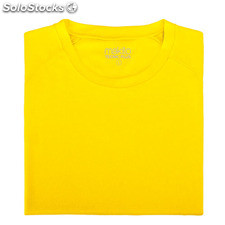 Camiseta adulto tecnic plus Amarillo