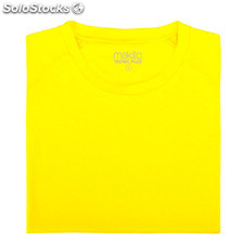 Camiseta adulto tecnic plus Amarillo fluor
