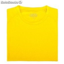 Camiseta adulto tecnic plus : colores - amarillo, tallas - l,camiseta adulto