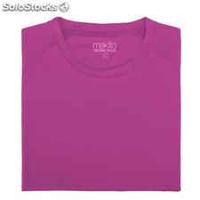 Camiseta adulto tecnic plus Fucsia