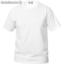 Camiseta basic t junior blanco