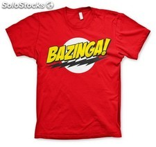 Camiseta big bang theory bazinga l PLL02-CHTBB013266L