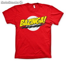 Camiseta Big Bang Theory Bazinga M