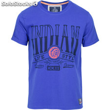 Camiseta built to resist - blue - the indian face - 8433856054231 - 01-111-03-m