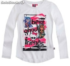 Camiseta cleo de nile y ghoulia yelps monster high talla 14