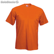Camiseta color heavy-t* naranja