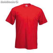 Camiseta color heavy-t* rojo
