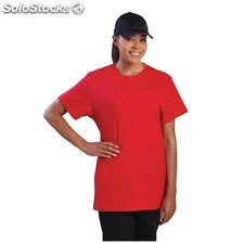 Camiseta colour by chef works rojo l