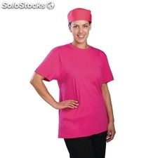 Camiseta colour by chef works rosa l