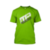 Camiseta de entreno Distressed short sleeve green