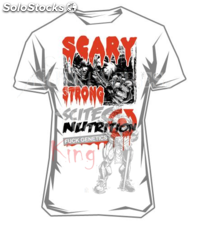 Camiseta de entreno Scary strong de Scitec nutrition