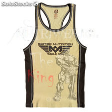 Camiseta de tirantes Muscle army tank top
