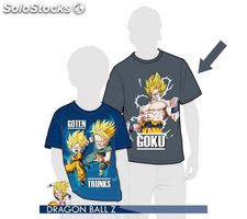 Camiseta dragon ball goku xxl