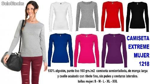 925eb0a02d4 Camiseta extreme mujer