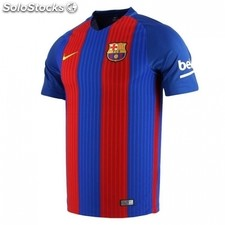 Camiseta f.c.barcelona 16/17 azul/ granate adulto