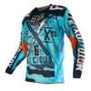 Camiseta fox 180 vicious aqua
