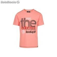 Camiseta free and spirit 1980 - pink