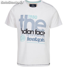 Camiseta free and spirit 1980 - white - the indian face - 8433856056976 -