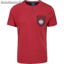 Camiseta freestyle pocket - brown