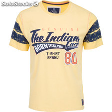 Camiseta genuine 80 - yellow - the indian face - 8433856054095 - 01-110-02-xl