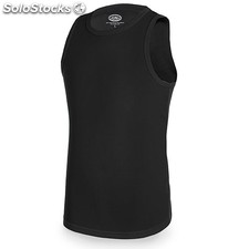 Camiseta gym d&f negra l