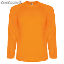 Camiseta Hombre 4 naranja fluor sport collection