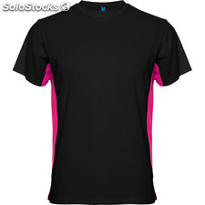 Camiseta Hombre m negro/fucsia sport collection