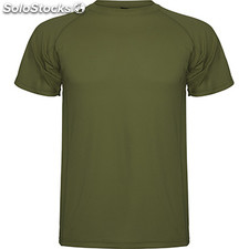 Camiseta Hombre s verde militar sport collection