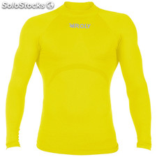 Camiseta Hombre xs-s amarillo sport collection