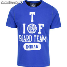 Camiseta indian board team - royal blue