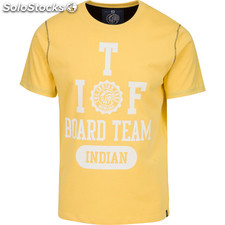 Camiseta indian board team - yellow - the indian face - 8433856056839 -