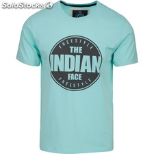 Camiseta indian freestyle - soft blue