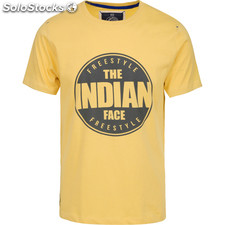 Camiseta indian freestyle - yellow - the indian face - 8433856055092 -