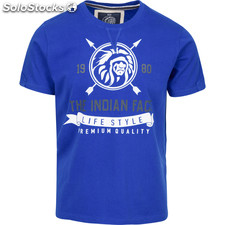 Camiseta indian life style - royal blue