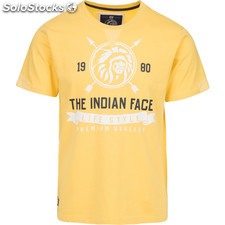 Camiseta indian life style - yellow - the indian face - 8433856055603 -