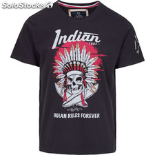 Camiseta indian rules forever - navy blue - the indian face - 8433856057089 -