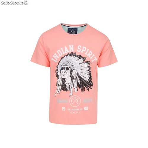 Camiseta indian spirit - pink